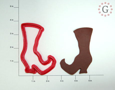 Witch's Boot Cookie Cutter - 2 Size Options
