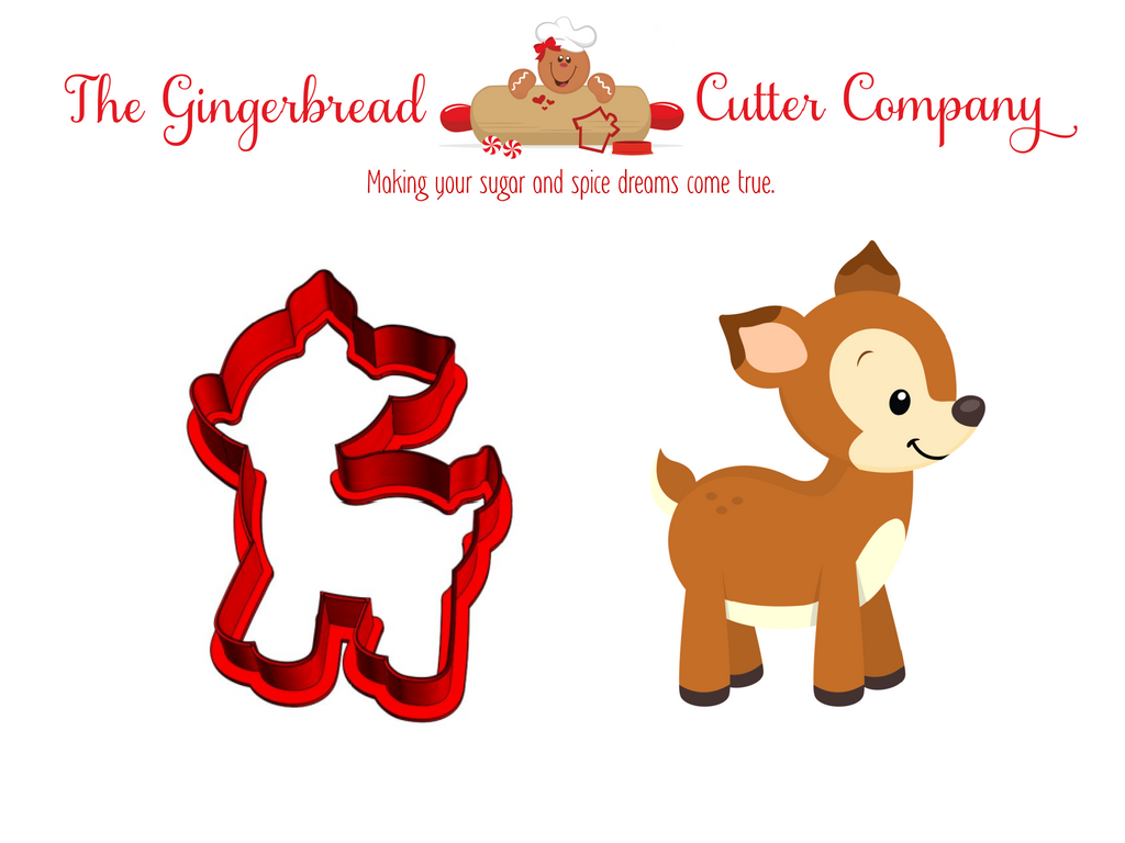 Woodland Deer Cookie Cutter