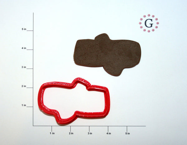 Yule Log Cookie Cutter