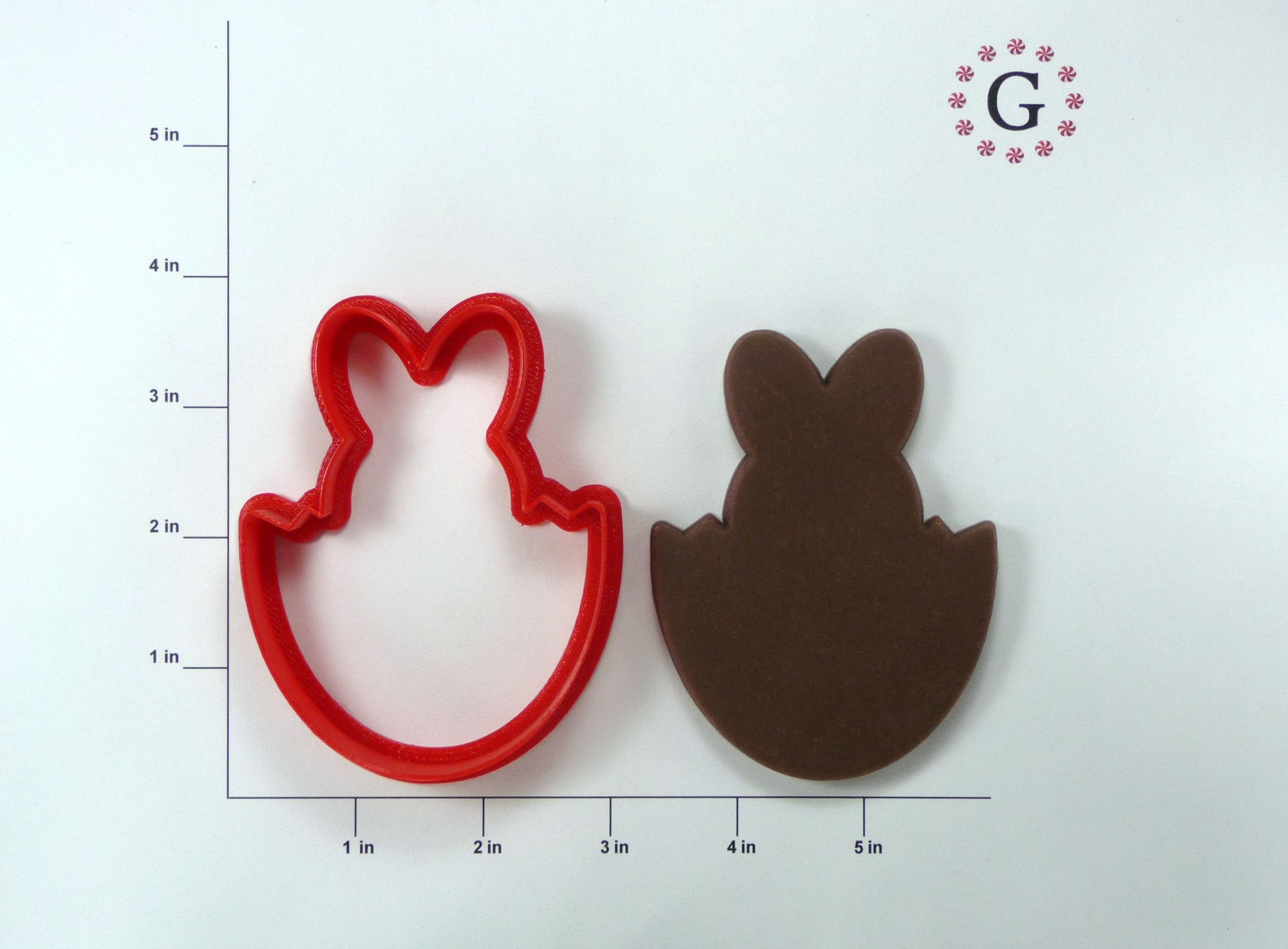 Bunny In Egg Cookie Cutter