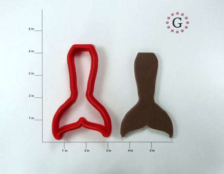 Mermaid Tail - Regular Cookie Cutter
