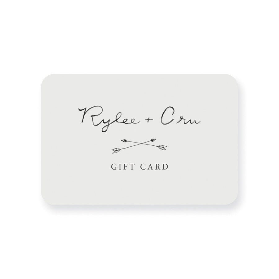 Gift Card - Rylee + Cru | Kids Clothes | Trendy Baby Clothes | Modern Infant Outfits |