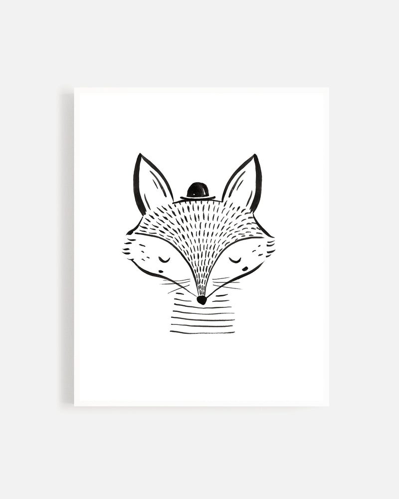 Fall Fox Print - Rylee + Cru