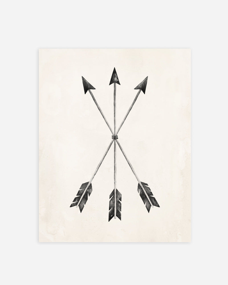 Arrow Print - Rylee + Cru