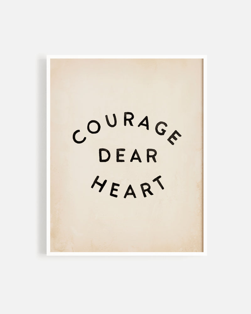 courage print