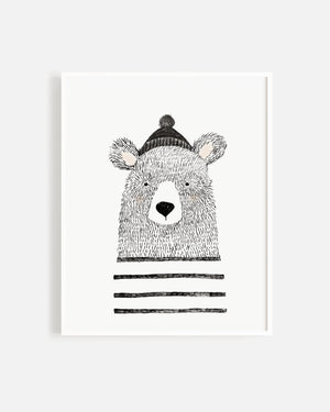 Winter Bear Print - Rylee + Cru