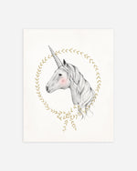 Unicorn Art Print - Rylee + Cru