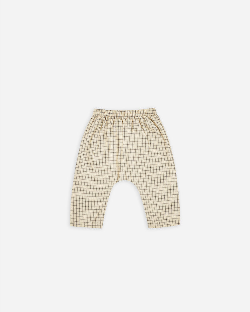 rowan pant || grid - Rylee + Cru | Kids Clothes | Trendy Baby Clothes | Modern Infant Outfits |