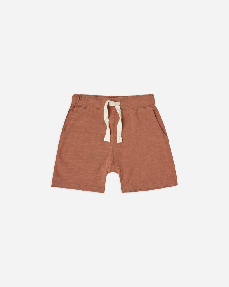 boys slub short || amber - Rylee + Cru | Kids Clothes | Trendy Baby Clothes | Modern Infant Outfits |