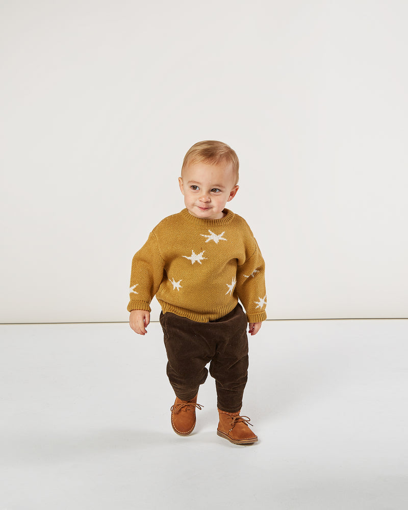 knit pullover || stars - Rylee + Cru