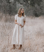 Lottie Dress | Ivory Dot - Rylee + Cru
