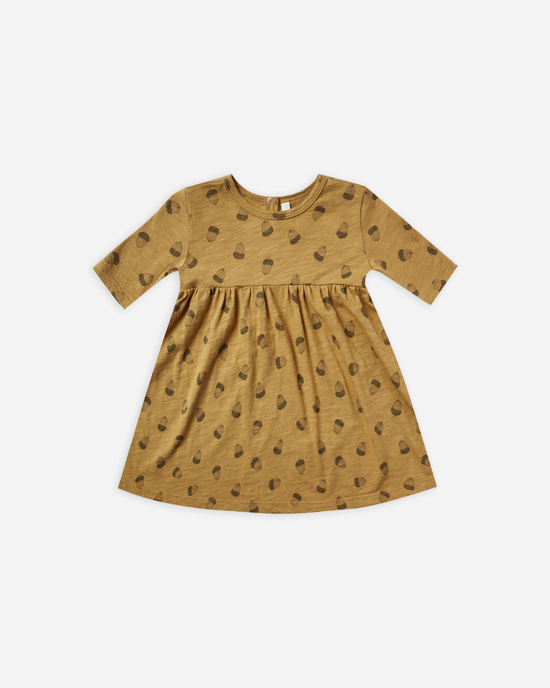 finn dress || acorn - Rylee + Cru | Kids Clothes | Trendy Baby Clothes | Modern Infant Outfits |