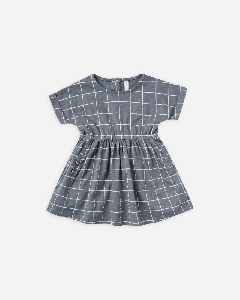 kat dress || grid - Rylee + Cru | Kids Clothes | Trendy Baby Clothes | Modern Infant Outfits |