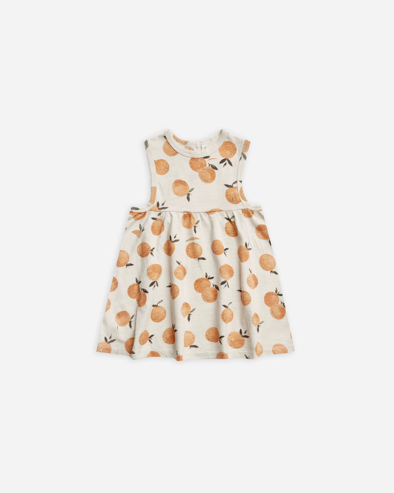 layla dress || oranges - Rylee + Cru