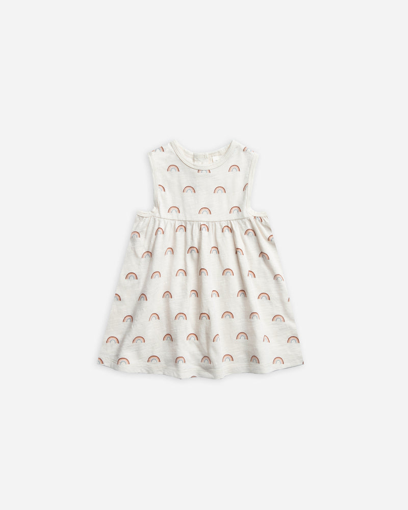 Layla Dress || Rainbow - Rylee + Cru