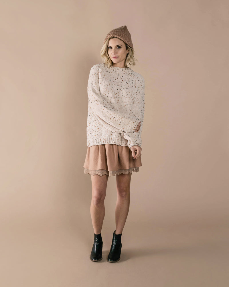 Mini Skirt | Truffle - Rylee + Cru