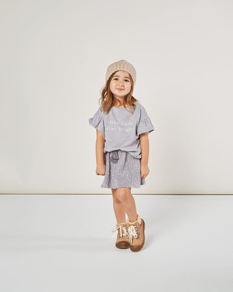 mini skirt || moondust - Rylee + Cru