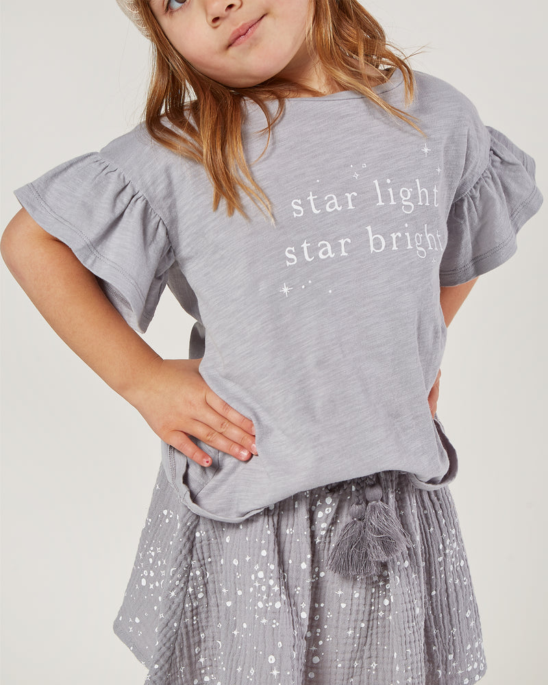flutter tee || star light - Rylee + Cru