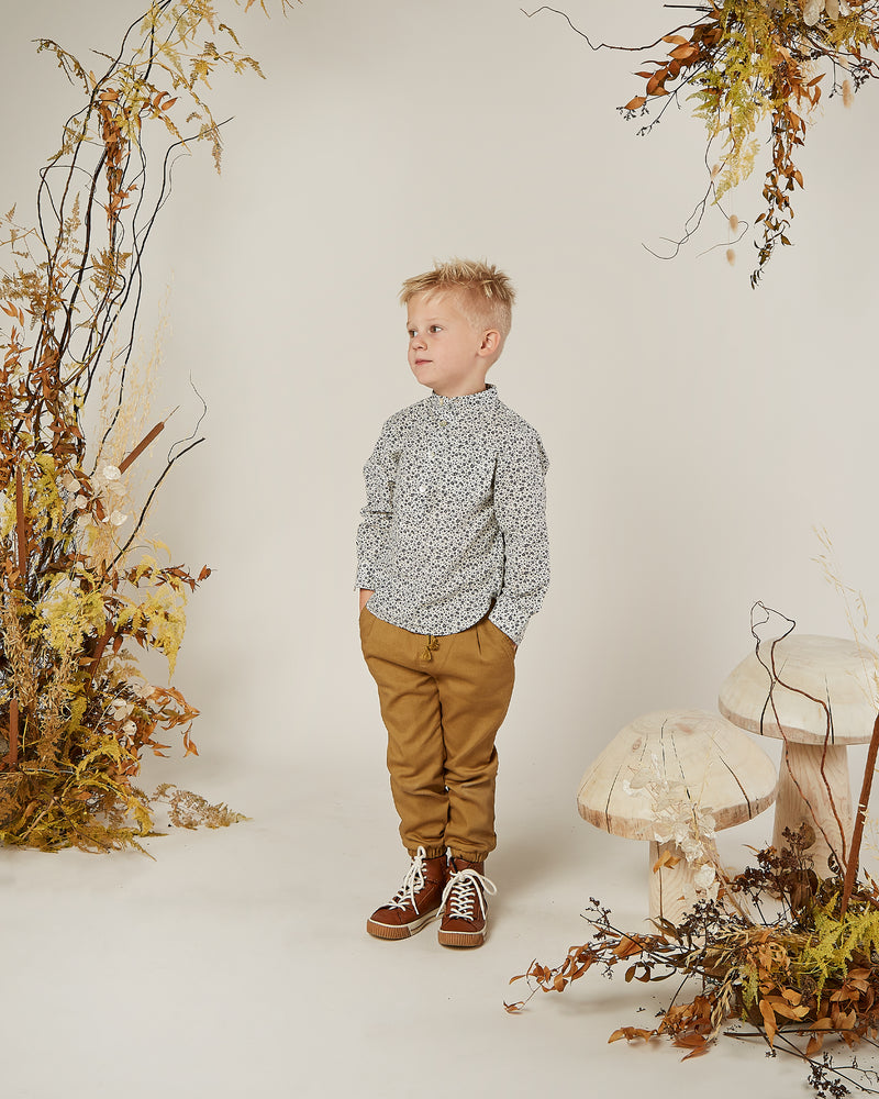 mason shirt || flower field - Rylee + Cru | Kids Clothes | Trendy Baby Clothes | Modern Infant Outfits |