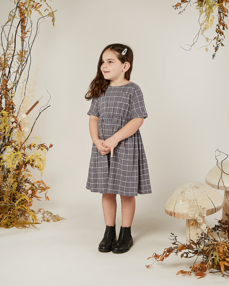kat dress || grid - Rylee + Cru