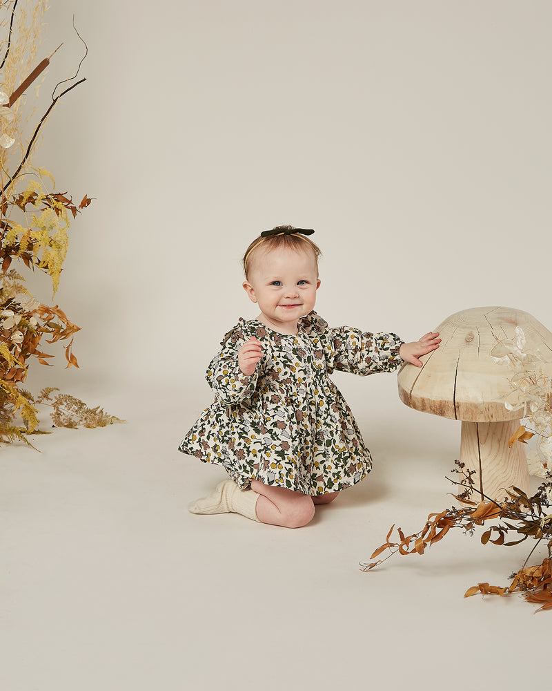 piper blouse || enchanted garden - Rylee + Cru