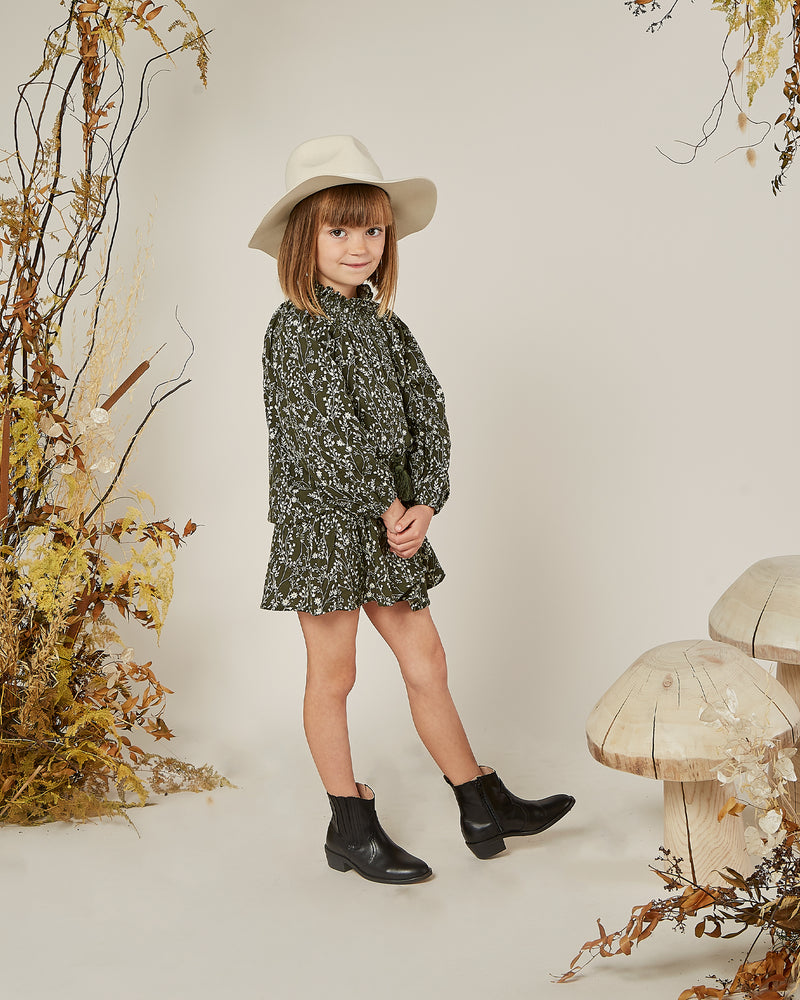 audrey blouse || vines - Rylee + Cru | Kids Clothes | Trendy Baby Clothes | Modern Infant Outfits |