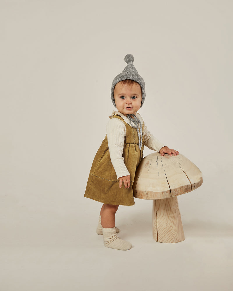 corduroy pinafore || goldenrod - Rylee + Cru | Kids Clothes | Trendy Baby Clothes | Modern Infant Outfits |