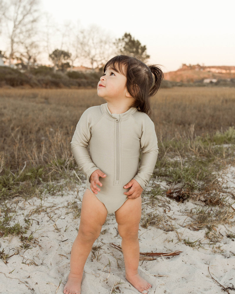 rashguard onepiece || sage - Rylee + Cru | Kids Clothes | Trendy Baby Clothes | Modern Infant Outfits |