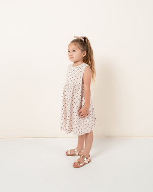 layla dress || strawberry