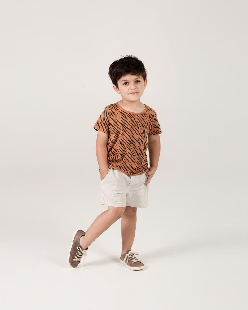 basic tee || tiger stripe - Rylee + Cru | Kids Clothes | Trendy Baby Clothes | Modern Infant Outfits |