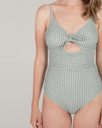 keyhole one-piece | gingham - Rylee + Cru
