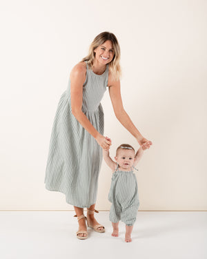 zoe dress | gingham - Rylee + Cru