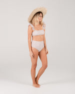 high-waisted bikini bottom | sunburst - Rylee + Cru