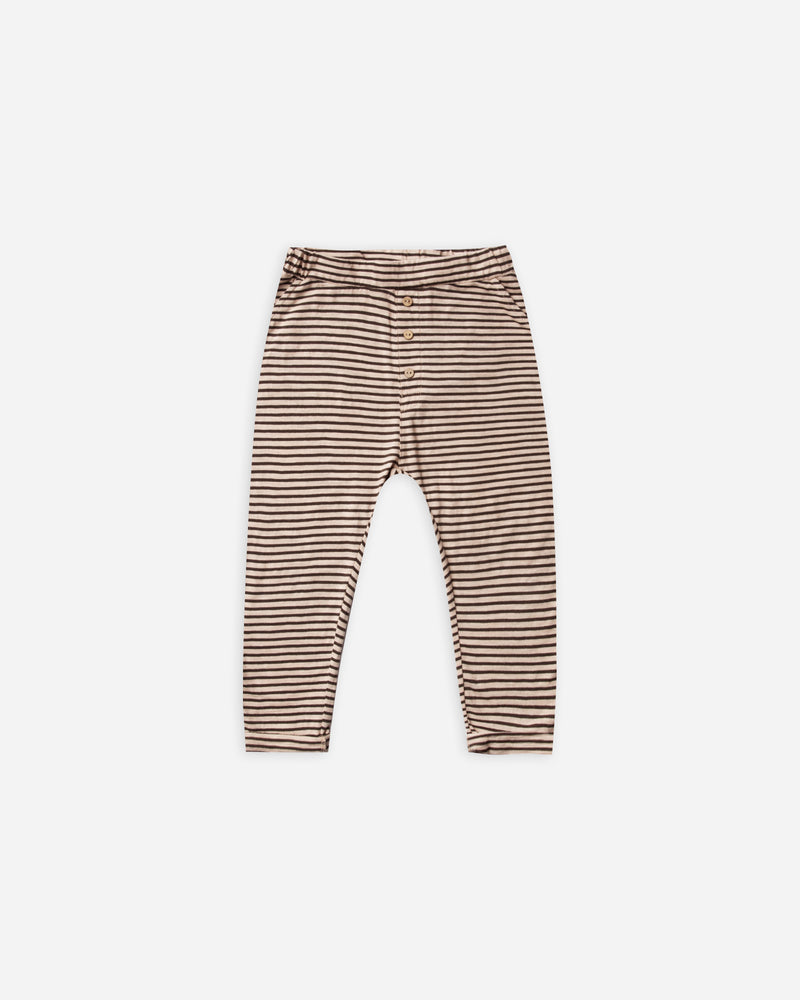 cru pant || oat/black stripe - Rylee + Cru | Kids Clothes | Trendy Baby Clothes | Modern Infant Outfits |