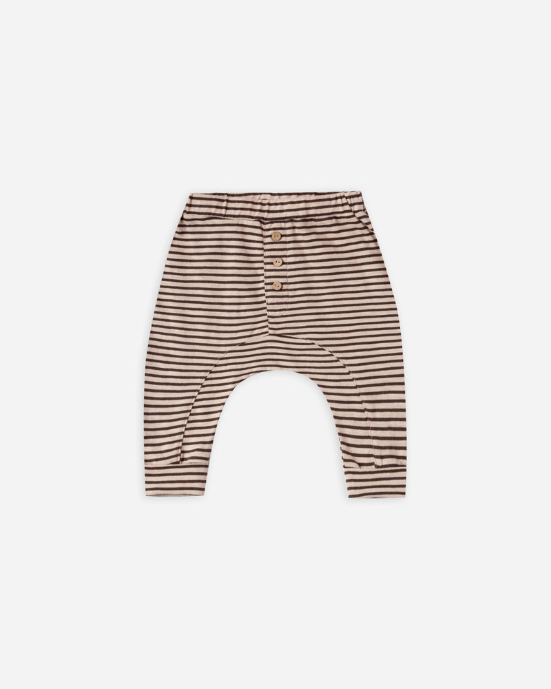 baby cru pant || oat/black stripe - Rylee + Cru | Kids Clothes | Trendy Baby Clothes | Modern Infant Outfits |