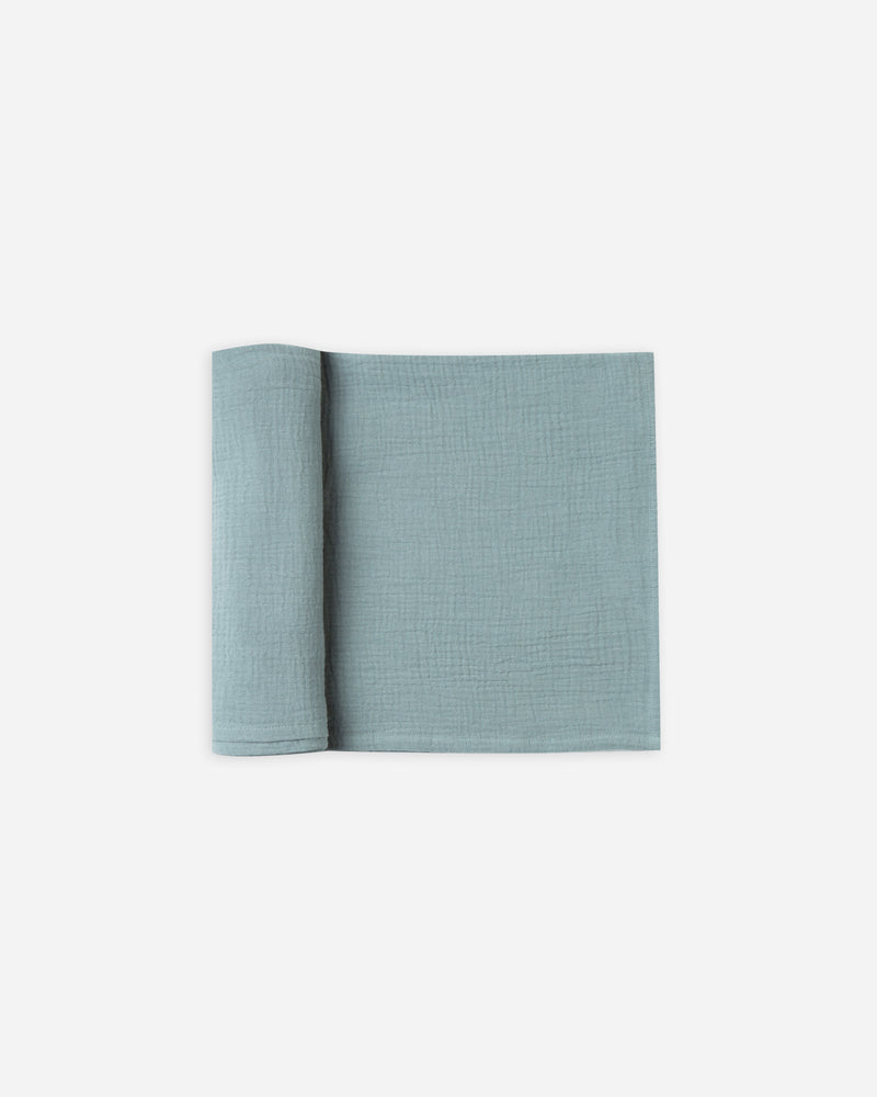 Swaddle || Dusty Blue - Rylee + Cru | Kids Clothes | Trendy Baby Clothes | Modern Infant Outfits |