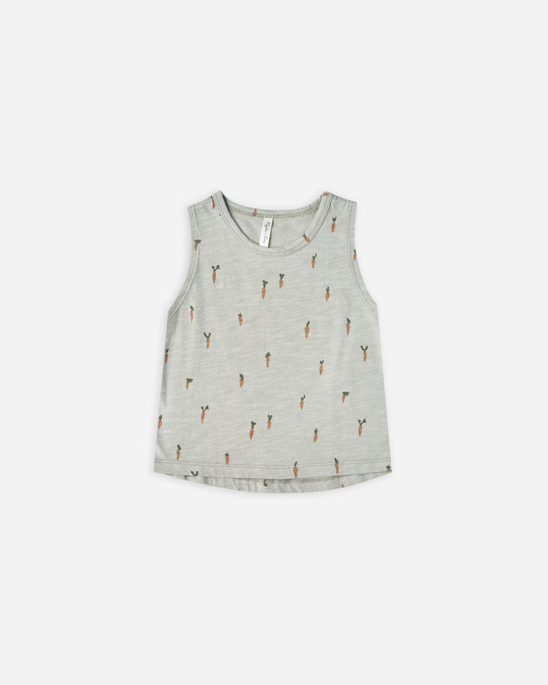 tank || carrots - Rylee + Cru | Kids Clothes | Trendy Baby Clothes | Modern Infant Outfits |