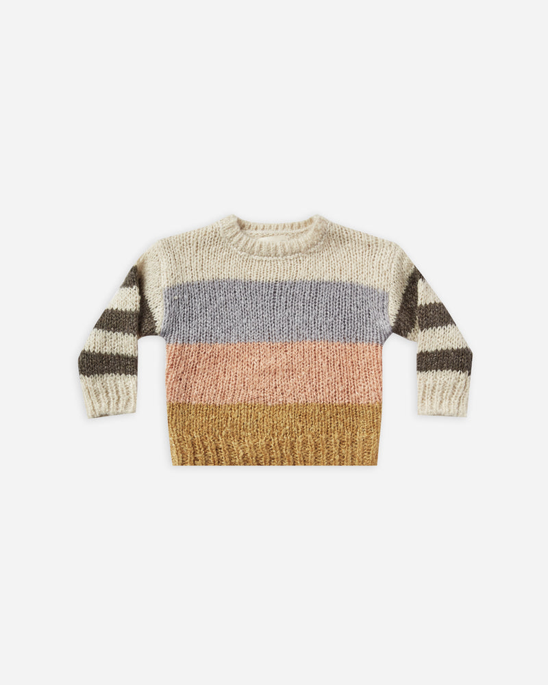 aspen sweater || color block - Rylee + Cru