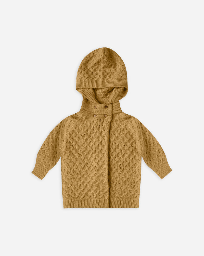 baby sweater coat || goldenrod - Rylee + Cru