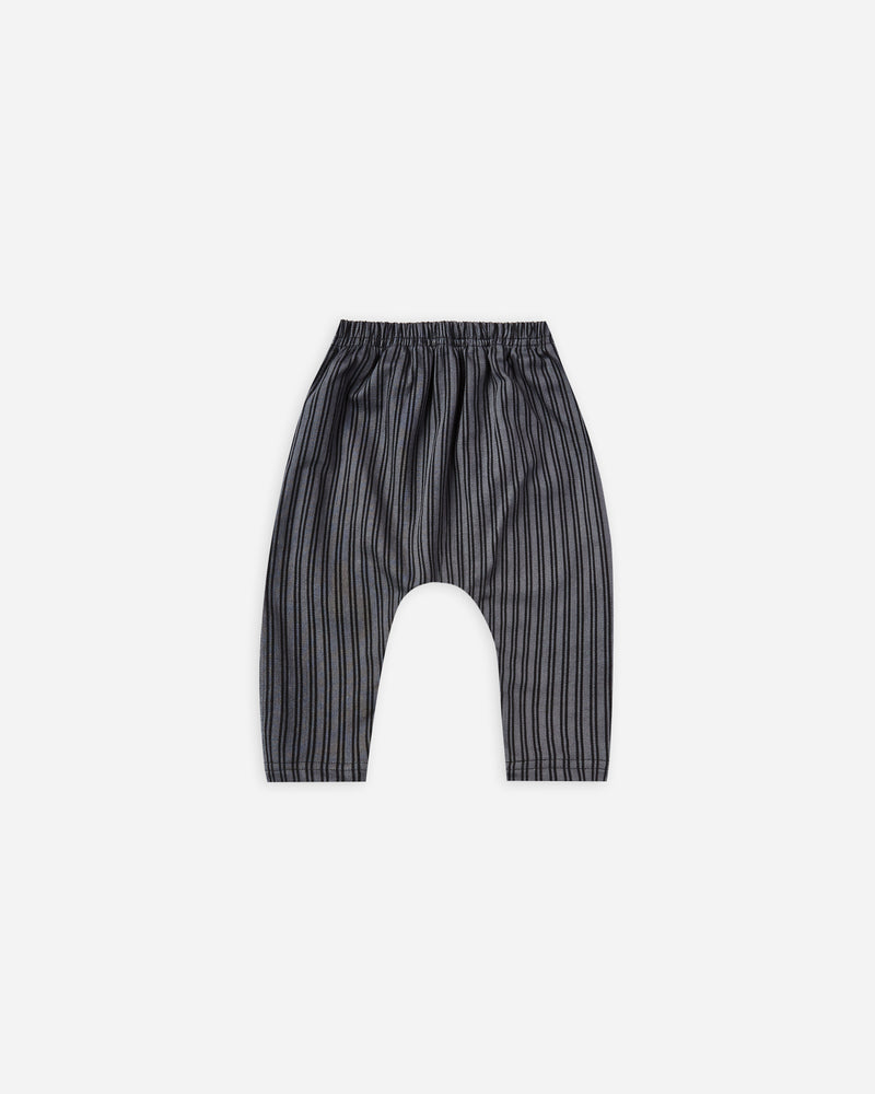 baby harem pant || indigo stripe - Rylee + Cru | Kids Clothes | Trendy Baby Clothes | Modern Infant Outfits |