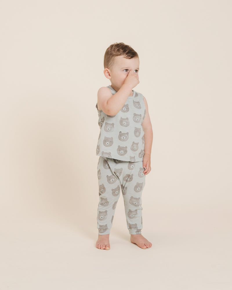 Slouch Pant || Bears - Rylee + Cru | Kids Clothes | Trendy Baby Clothes | Modern Infant Outfits |