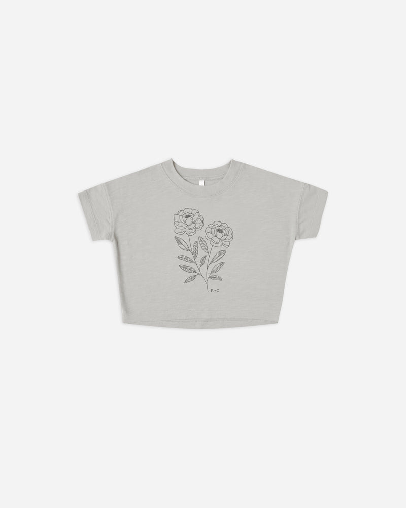 boxy tee || peony - Rylee + Cru | Kids Clothes | Trendy Baby Clothes | Modern Infant Outfits |