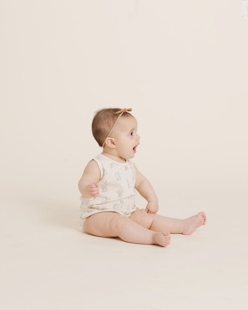 Bubble Onesie || Bunnies - Rylee + Cru | Kids Clothes | Trendy Baby Clothes | Modern Infant Outfits |