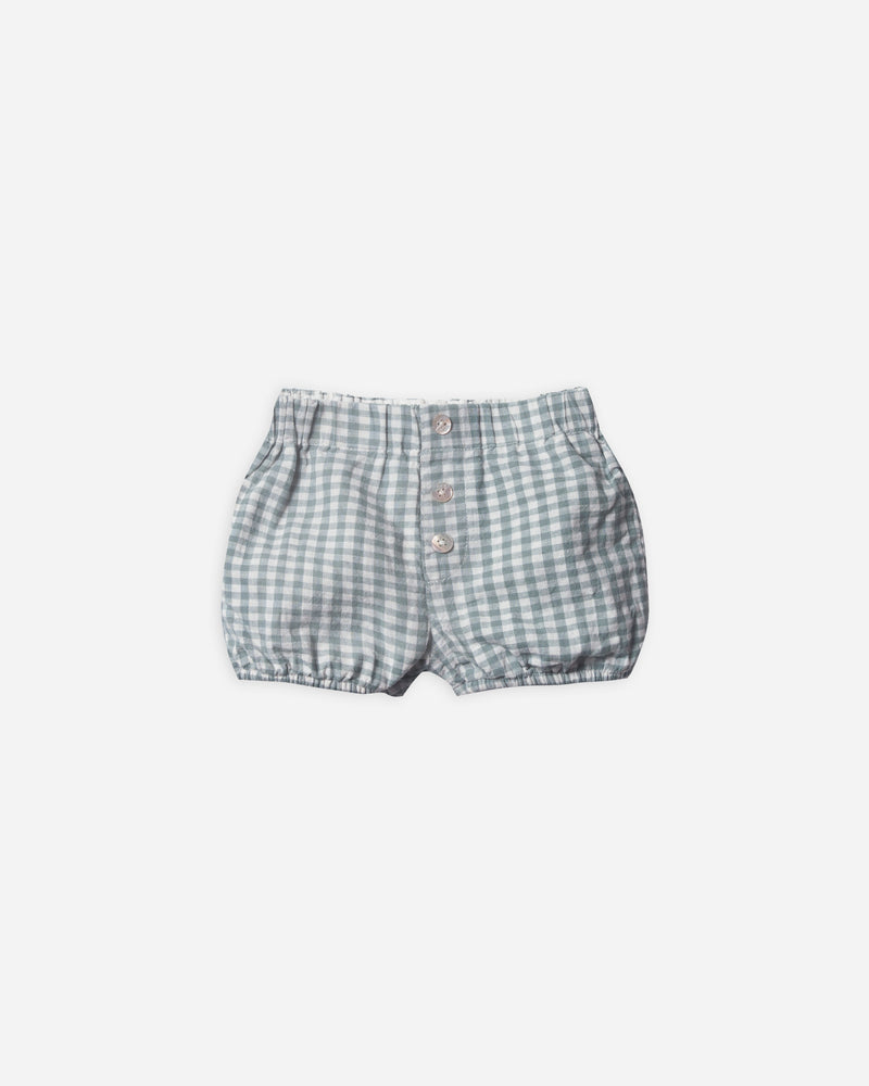button short || gingham - Rylee + Cru | Kids Clothes | Trendy Baby Clothes | Modern Infant Outfits |