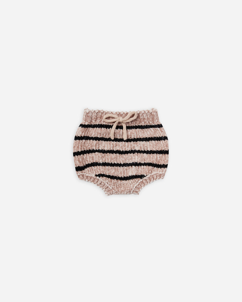 chenille bloomer | oat stripe - Rylee + Cru | Kids Clothes | Trendy Baby Clothes | Modern Infant Outfits |