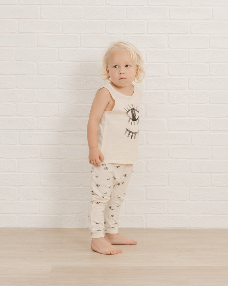 Slouch Pant || Eyes - Rylee + Cru | Kids Clothes | Trendy Baby Clothes | Modern Infant Outfits |