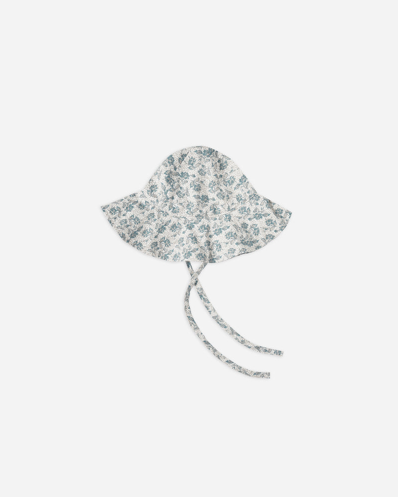 ROSES FLOPPY SUN HAT || Ivory - Rylee + Cru | Kids Clothes | Trendy Baby Clothes | Modern Infant Outfits |