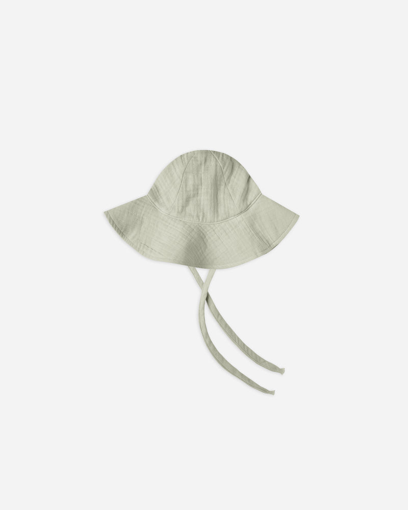 FLOPPY SUN HAT || Sage - Rylee + Cru | Kids Clothes | Trendy Baby Clothes | Modern Infant Outfits |