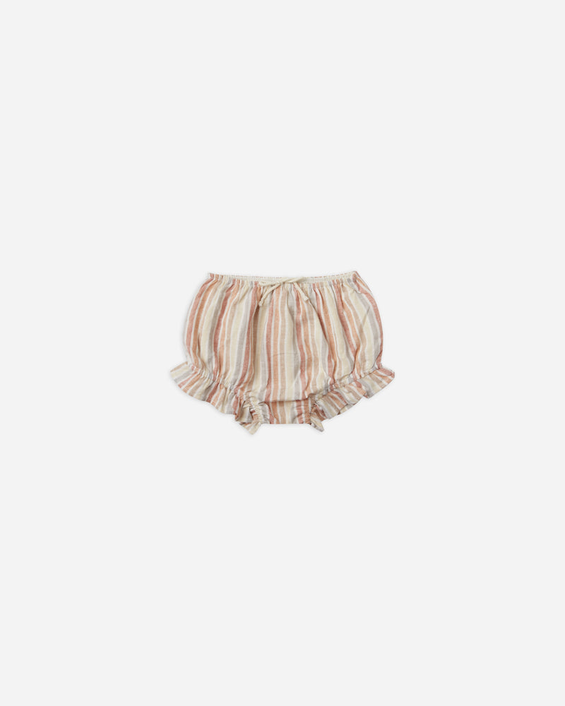 flutter bloomer || multi-stripe - Rylee + Cru | Kids Clothes | Trendy Baby Clothes | Modern Infant Outfits |