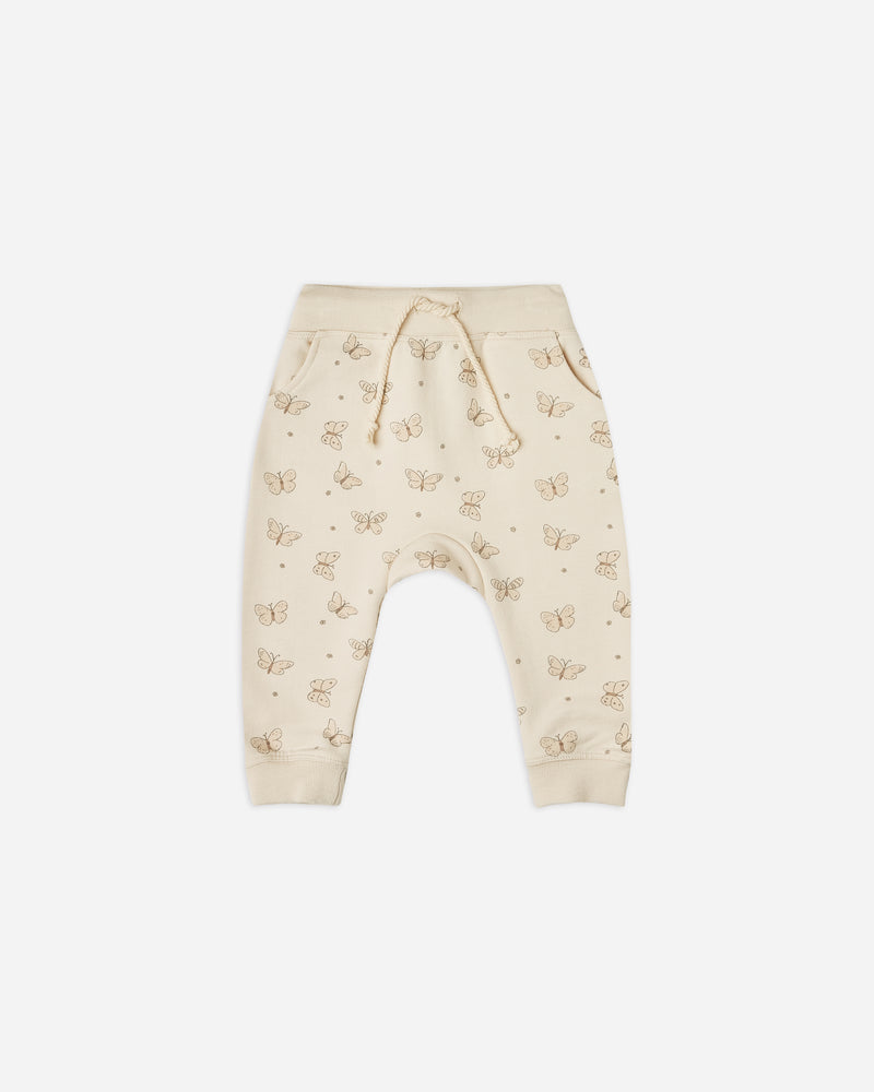 sweatpant || butterfly - Rylee + Cru | Kids Clothes | Trendy Baby Clothes | Modern Infant Outfits |